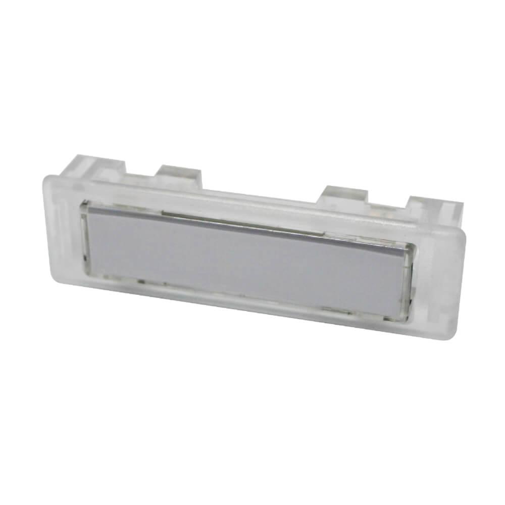 Klingeltaster aus Kunststoff farblos NT1333