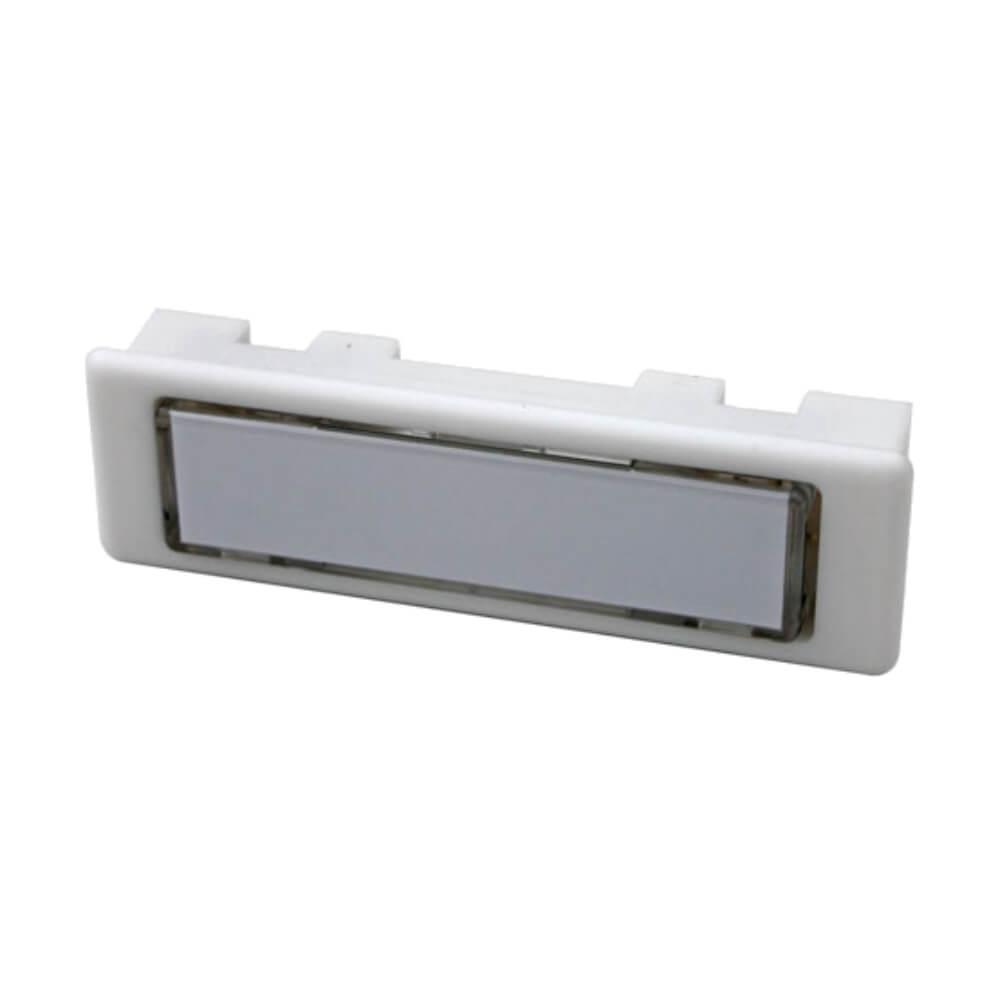 Klingeltaster aus Kunststoff weiß NT1331
