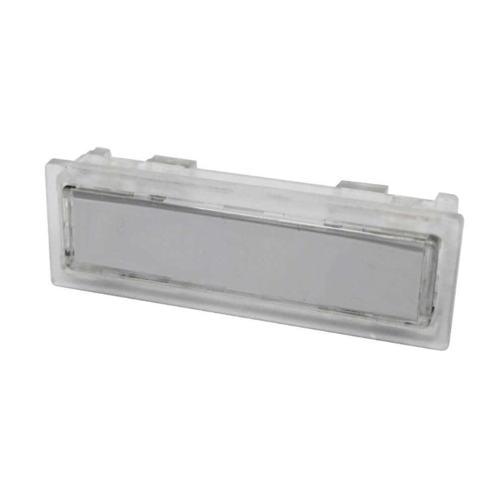 Klingeltaster aus Kunststoff farblos NT1323