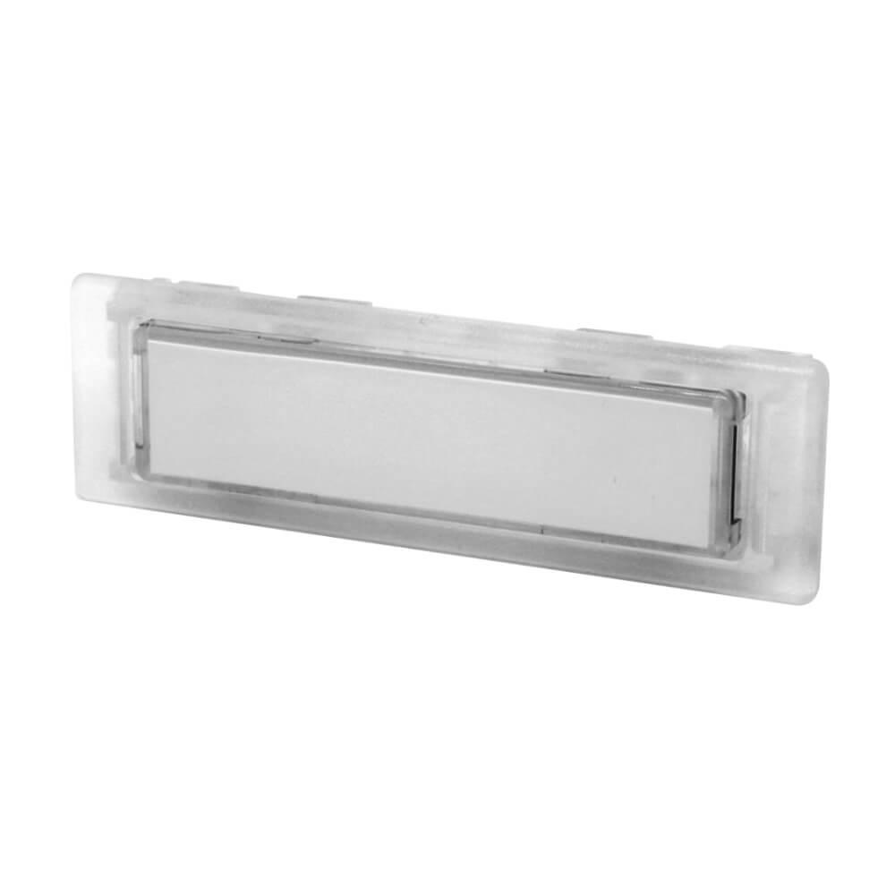 Klingeltaster aus Kunststoff farblos NT1383
