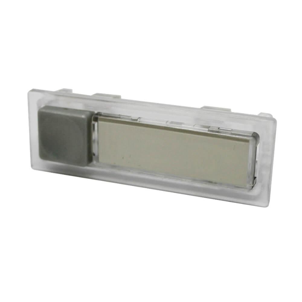 Klingeltaster aus Kunststoff farblos NT1353