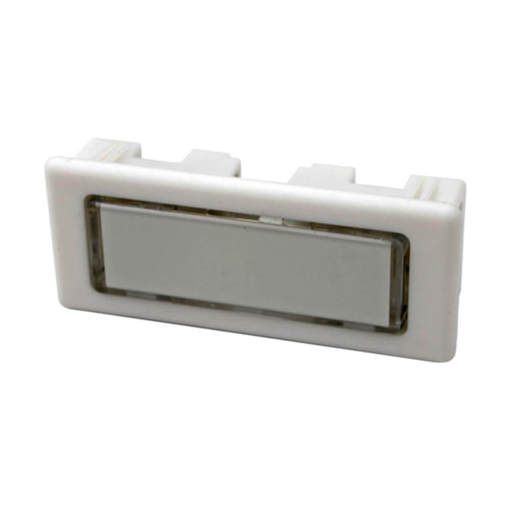 Klingeltaster aus Kunststoff weiß NT1341