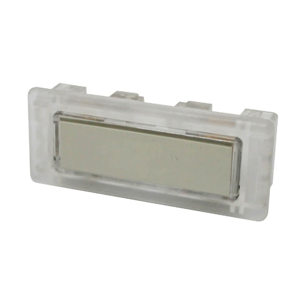 Klingeltaster aus Kunststoff farblos NT1343