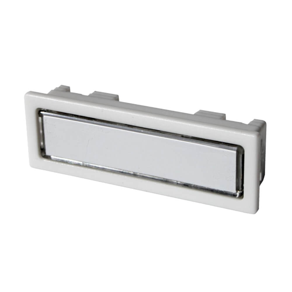 Klingeltaster aus Kunststoff weiß NT1301