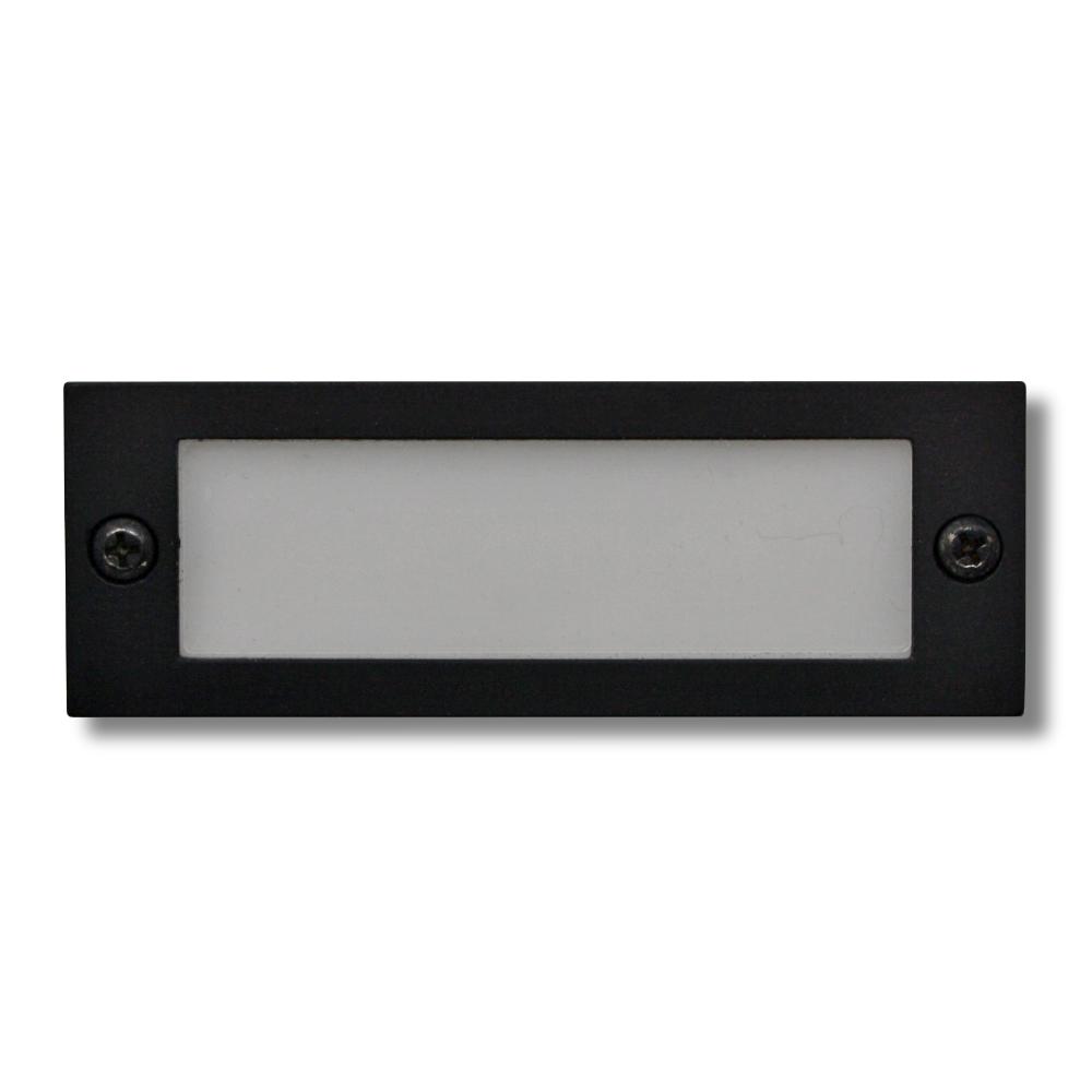 Rähmchen Alu schwarz 57 x 20 mm